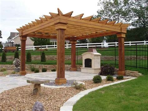 pergola design ideas free standing pergola most