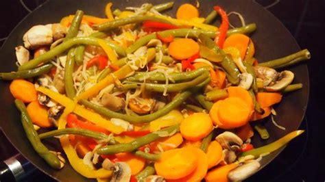 recette wok de legumes inratable