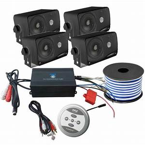 Pyle Bluetooth Marine 1200 Watt 4
