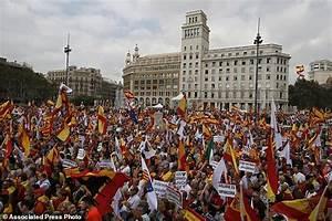 Spain celebrates national day amid Catalan secession ...