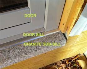 House Door Sill
