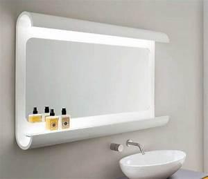 Badschrank Mit Spiegel Und Licht : badspiegel mit beleuchtung und ablage oh45 hitoiro ~ Bigdaddyawards.com Haus und Dekorationen