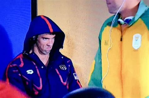 Michael Phelps Memes - the 5 real mvps of the 2016 olympics michael phelps s death stare more