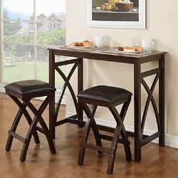 view 3 piece breakfast pub set deals at big lots