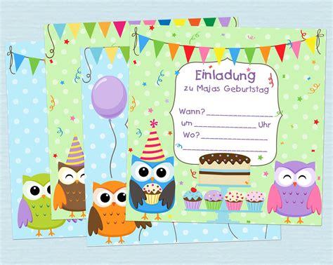 einladungskarten kindergeburtstag einladungskarten