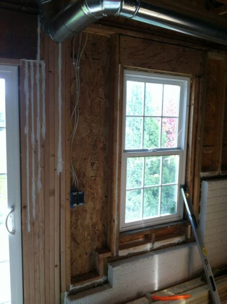 insulating walkout basement wall insulation diy