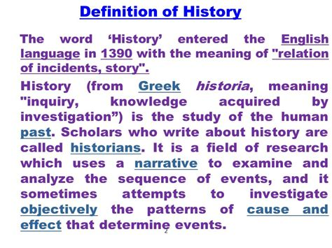 Lecture # 1 An Introduction To World History