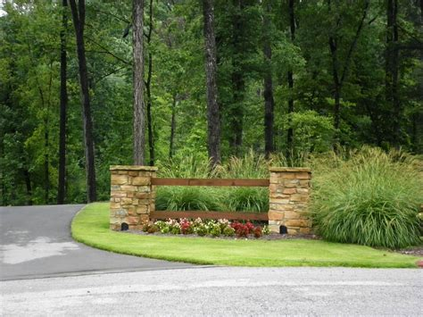 landscaping ideas for entrance driveway driveway entrance landscaping ideas driveway entrance landscaping ideas design ideas and photos