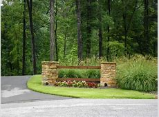 Driveway Entry Landscaping Ideas Image to u