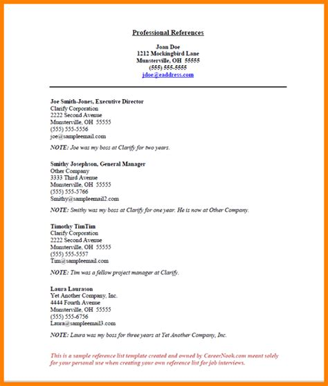 Reference Page Template 4 References Format Ledger Paper