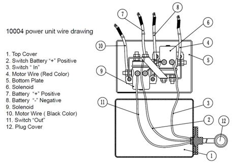 wiring diagram for the bulldog winch 1 87 hp standard