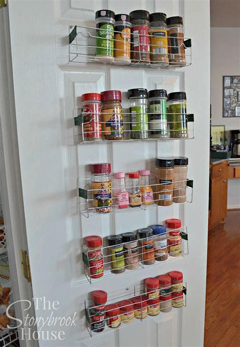 diy spice rack ideas   whimiscal kitchen full home living