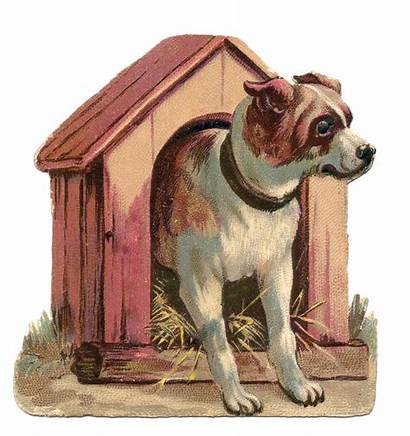 Dog Clip Clipart Graphics Dogs Victorian Doghouse