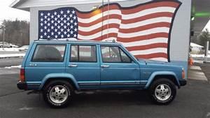 1987 Amc Jeep Cherokee Laredo Xj 4 0 Auto Made  U0026 Assembled In The U S A
