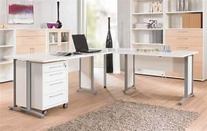 Schreibtische Weiß : prima winkelkombination mit rollcontainer 200x230cm ~ Pilothousefishingboats.com Haus und Dekorationen
