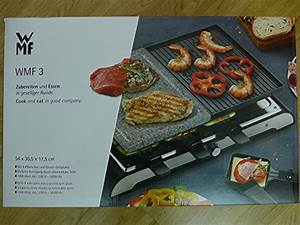 Wmf Raclette Grill : wmf 3 raclette grill mit granitplatte raclette grill tests vergleiche tipps ~ Frokenaadalensverden.com Haus und Dekorationen