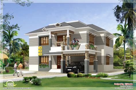 home design free 2700 sq kerala style home plan and elevation kerala