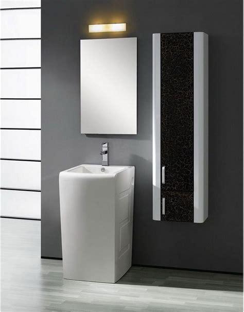 modern pedestal sinks for small bathrooms small bathroom