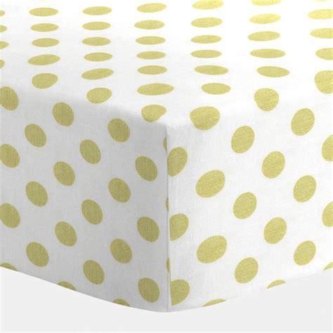 white and gold dot crib sheet carousel designs