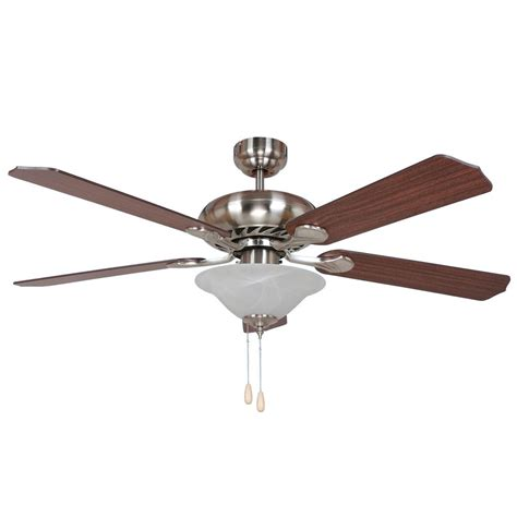 52 brushed nickel ceiling fan y decor bodi 52 in brushed nickel ceiling fan bodi bbn 1
