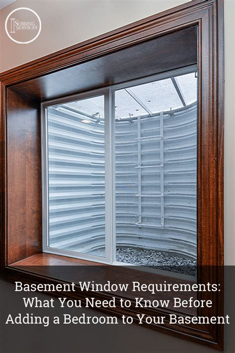 basement window requirements what you need to before
