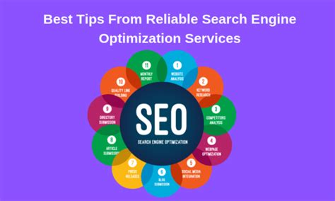 Best Search Engine Optimization Services by Best Tips From Reliable Search Engine Optimization