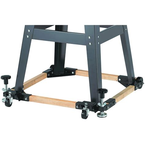 table saw caster kit moving a table saw woodworking talk woodworkers forum