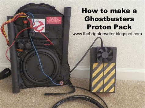 Proton Pack Backpack by How To Make A Ghostbusters Proton Pack Step By Step