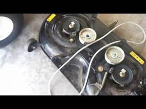 Cub Cadet Xt1 Deck Removal Tips