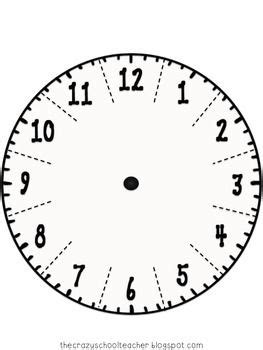 telling time  clock freebie  images clock