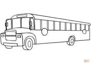 School Bus coloring page | Free Printable Coloring Pages