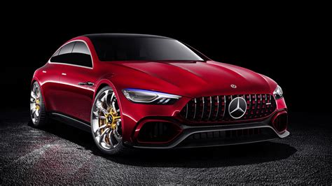2017 Mercedes Amg Gt Concept Wallpaper