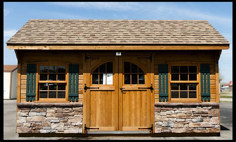 Yard Barns And More by Is It Time For A Backyard Shed 187 Amish Woodwork
