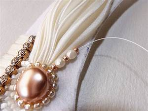 pearly white bib necklace for ceremony or evening with With collier mariage swarovski