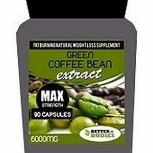 90 Strong Green Coffee Bean Extract Max 6000mg Weight Loss Diet Pills Bottle Gb