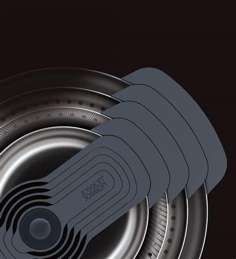 joseph joseph  collection nest stainless steel mixing bowl nylon measuring cup set  piece