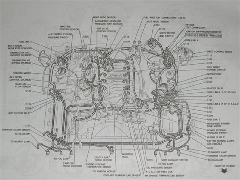 ford mustang engine diagram wiring forums