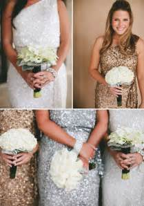 gold glitter bridesmaid dresses glamorous black white and gold wedding with sequin bridesmaid dresses