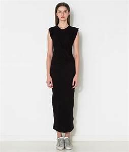 robe longue droite en coton la mode des robes de france With robe droite mi longue