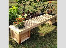 Planter Box & Gardening Bench