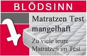 Test Matratzen 140x200 : stiftung warentest matratzen test ist bl dsinn teil 3 ~ Yasmunasinghe.com Haus und Dekorationen