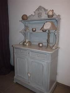 beautiful meuble with meuble repeint en gris With charming couleur taupe clair peinture 14 peinture et patine sur meubles