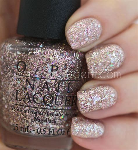 opi of light opi spotlight on glitter collection swatches and review