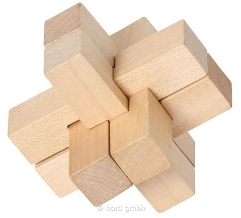 Puzzle Le Anleitung Teufelsknoten Holz Minipuzzle Mit Bauanleitung 6 Teile