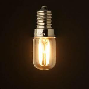 Led Light Bulbs : retro led filament lighting bulb 1w 2w 2200k e12 e14 base edison ampoule t20 clear glass 110v ~ Yasmunasinghe.com Haus und Dekorationen