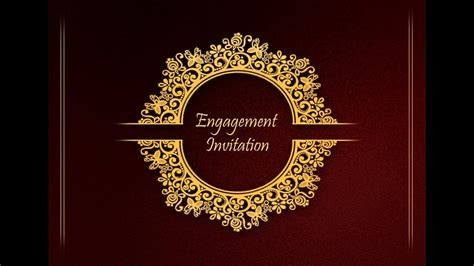 Adobe Photoshop How to Design Front Page of Engagement