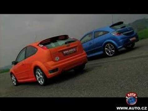 Ford Opel by Ford Focus St Vs Opel Astra Opc