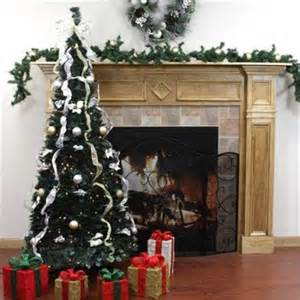 northlight 6 ft pre lit pop up decorated silver gold artificial christmas tree clear lights