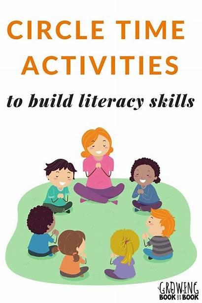 Circle Activities Clipart Kindergarten Preschool Literacy Songs