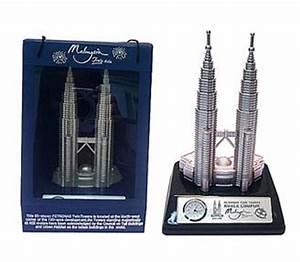 M'sia Landmarks : Twin Towers Miniature 7 5 - Clock